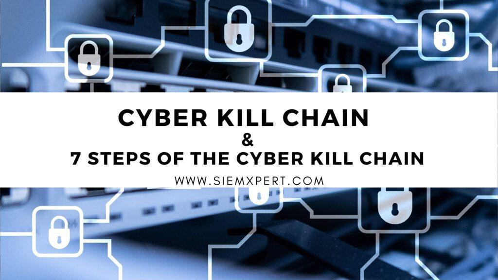 cyber kill chain & its process